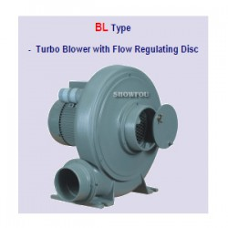 Turbo Blower w/ Flow Regulating Disc